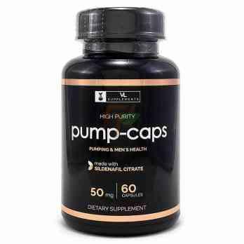 Sildenafil Citrate Pump Caps 50 мг 60 капсул