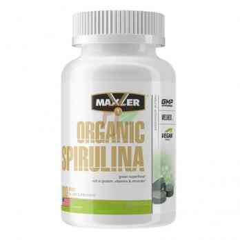 Organic Spirulina (500 mg × 180 tablets)