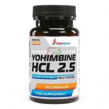 Yohimbine HCL 2.5