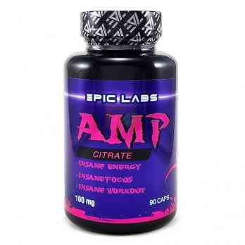 Epic Labs AMP Citrate 90 капсул