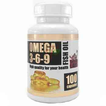Valhalla Labs Omega 3-6-9 (1000 мг × 100 капсул)