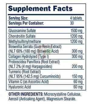 Glucosamine Chondroitin MSM - Hyper Flex