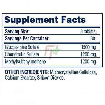 Glucosamine Chondroitin MSM (90 tablets)
