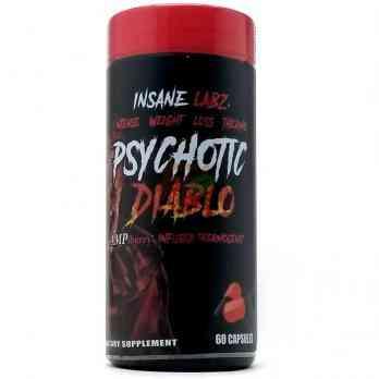 Insane Labz Psychotic Diablo 60 капс купить в Москве