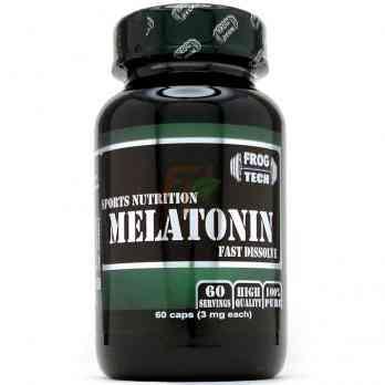Melatonin (3mg × 60 caps)