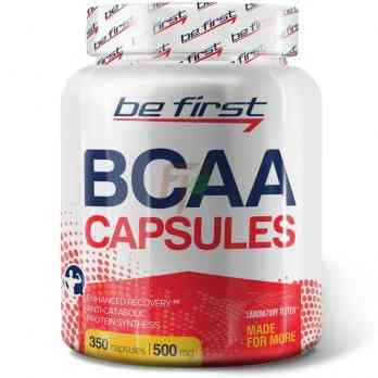 Be First BCAA Capsules (350 капсул)