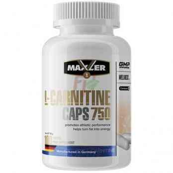 Maxler L-Carnitine 100 капсул по 750 мг купить в Москве