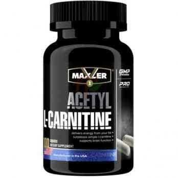 Maxler Acetyl L-Carnitine 100 капсул по 500 мг купить в Москве