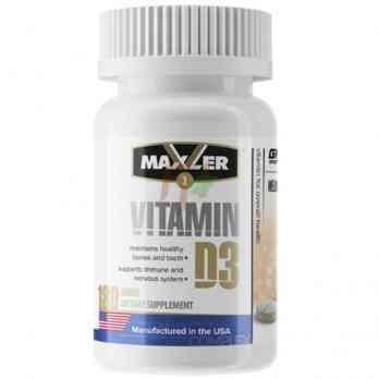 Maxler Vitamin D3 180 tablets купить в Москве