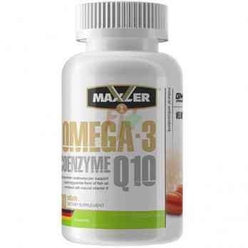Maxler Omega-3 Coenzyme Q10 60 softgels Купить в Москве