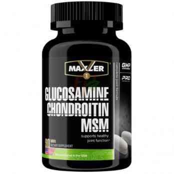 Maxler Glucosamine Chondroitin MSM 90 таблеток Купить в Москве