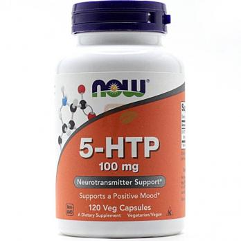 NOW 5-HTP 100 mg 120 veg capsules  купить