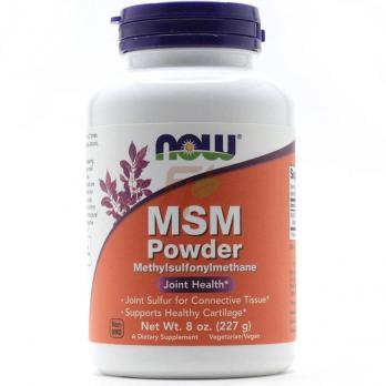 NOW MSM Powder 227 гр купить в Москве