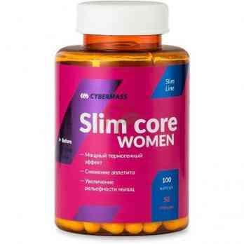 Cybermass Slim Core Women жиросжигатель 100 капсул