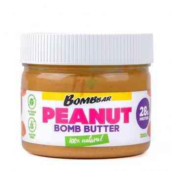 Bombbar Peanut Bomb Butter 300 гр - натуральная арахисовая паста