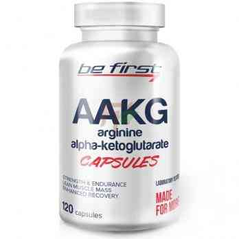 Be First AAKG - Arginine Alpha Ketoglutarate 120 caps