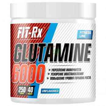 FIT-Rx Glutamine 6000 - Глютамин 250 гр