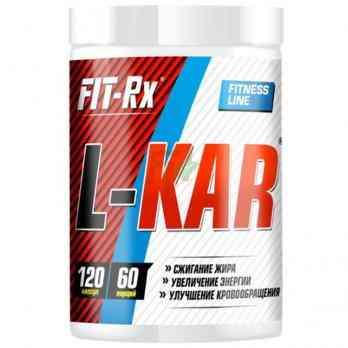 FIT-Rx L-Kar - Карнитин 120 капсул