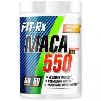 FIT Rx Maca 550 - 10:1 Extract - 60 caps
