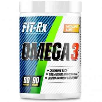 FIT-Rx Omega-3 90 caps купить в Москве