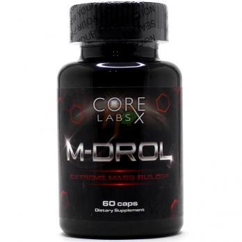 Core Labs x M-Drol 60 капсул по 10 мг