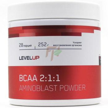 LevelUp Aminoblast BCAA 2:1:1 Powder 252 гр