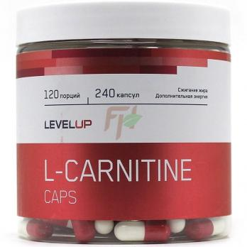 LevelUp L-Carnitine 240 caps 750 mg