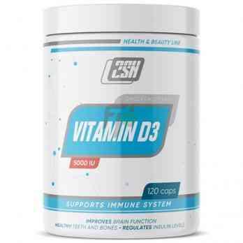 2SN Vitamin D3 5000 IU 120 caps