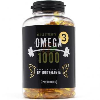 Bodymania Omega-3 1000mg 200 softgels