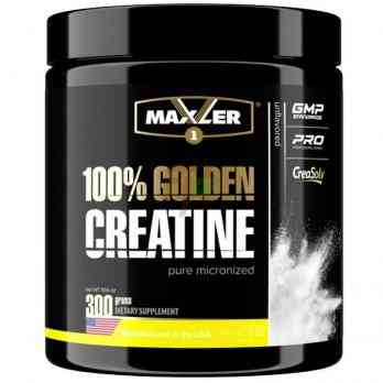 Maxler 100% Golden Creatine 300 grams