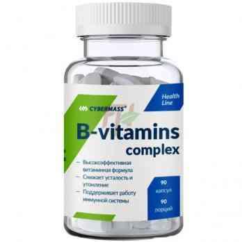Cybermass B-vitamins Complex 90 caps