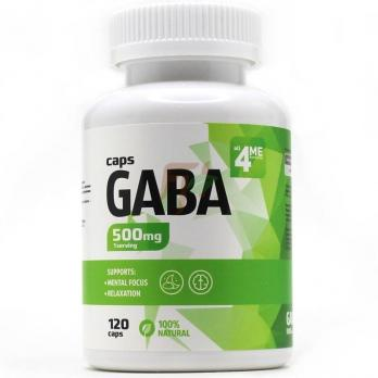 4Me Nutrition GABA 500mg 120caps