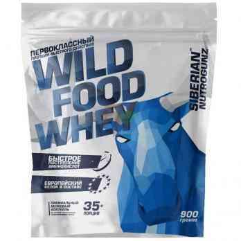 Siberian Nutrogunz Wild Food Whey Protein 900 гр