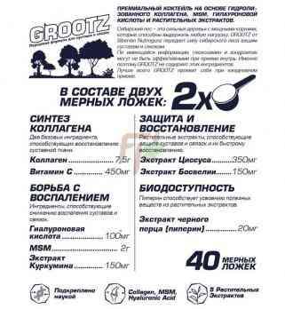 Siberian Nutrogunz Grootz состав и описание как принимать