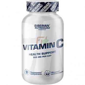 Siberian Nutrogunz Vitamin C 500 мг 30 капсул