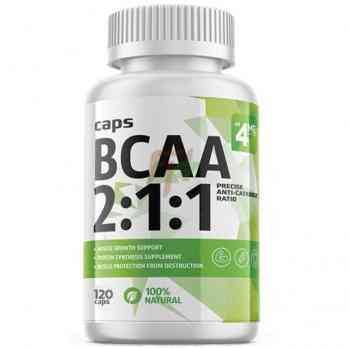 4Me Nutrition BCAA 2:1:1 120 caps