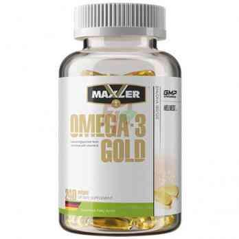 Maxler Omega-3 Gold EU 240 Softgels