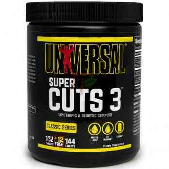 Universal Super Cuts 3 144 tablets