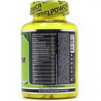 SteelPower VitaSystem 90 таблеток - описание