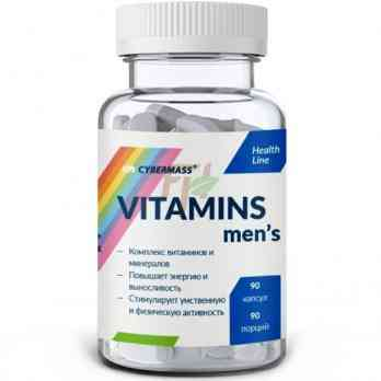 Cybermass Vitamins Men's 90 caps