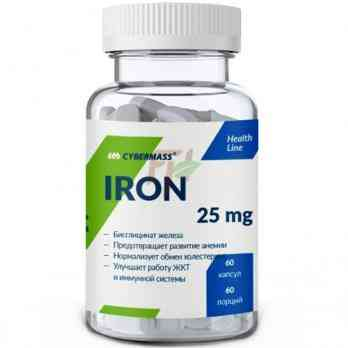 Cybermass Iron (25 mg 60 caps)