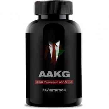 Ravnutrition AAKG (1000 мг× 200 таблеток)