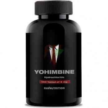 Ravnutrition Yohimbine (5 мг × 100 таблеток)