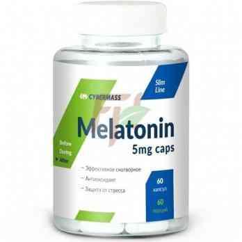 Cybermass Melatonin (5 мг× 60 капсул)