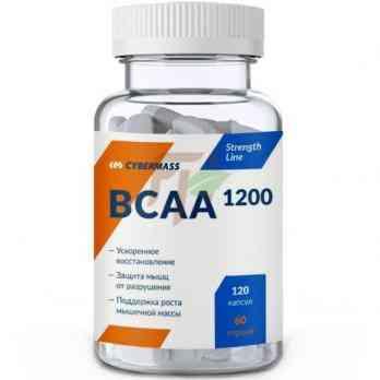 Cybermass BCAA 1200 (600 мг × 120 капсул)
