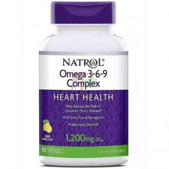 Natrol Omega 3-6-9 Complex (1200 мг × 90 капсул)