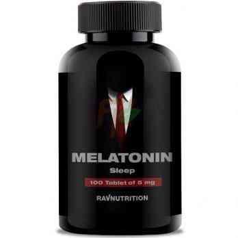 Ravnutrition Melatonin (5 мг × 100 таблеток)
