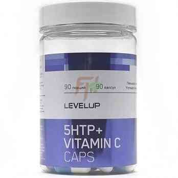 LevelUp 5HTP + Vitamin C (120 мг× 90 капсул)