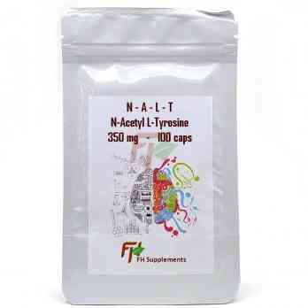 NALT - N-Acetyl L-Tyrosine (350 мг × 100 капсул)