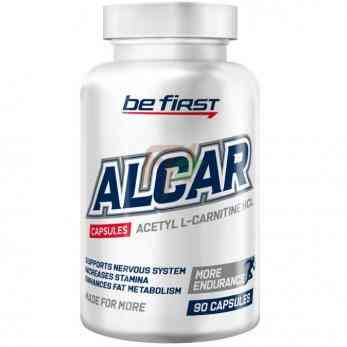 Be First ALCAR [Acetyl L-Carnitine] (600 мг × 90 капсул)